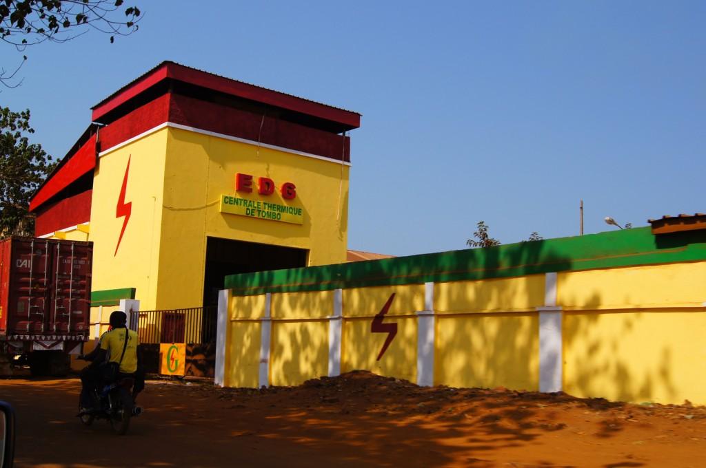 Электростанция в Гвинее